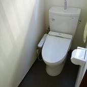 内装と共に快適なトイレに