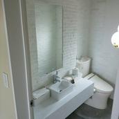 平塚市 美容院トイレ改装工事