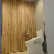 バリアフリーのトイレ(^^♪